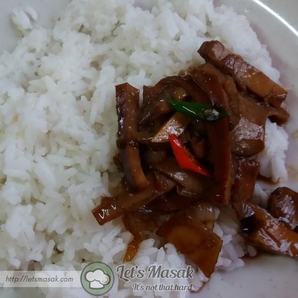 Sedap dimakan bersama nasi panas.