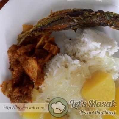 Sudah siap, boleh dimakan dgn nasi panas2 dan ikan goreng serta sambal cili api.. sedapppp