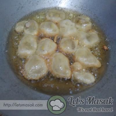 Adunan boleh dibuat jemput pisang juga.