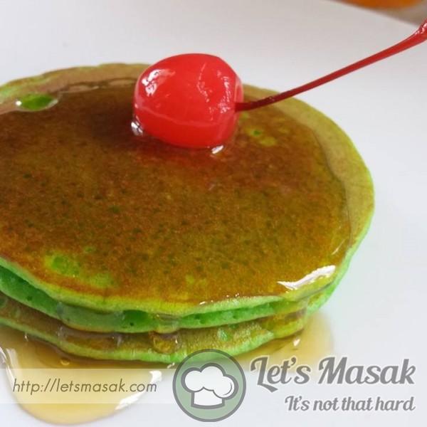Pandan Pancake