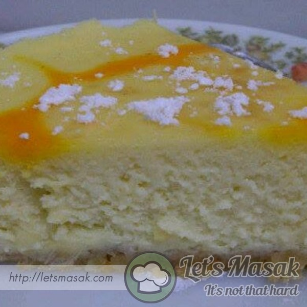 Durian Baked Cheesecake