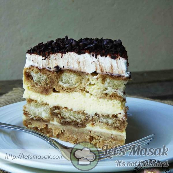 Baked Tiramisu Cheesecake