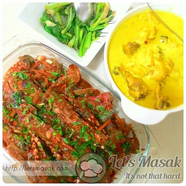 Lobster/crab Chilli