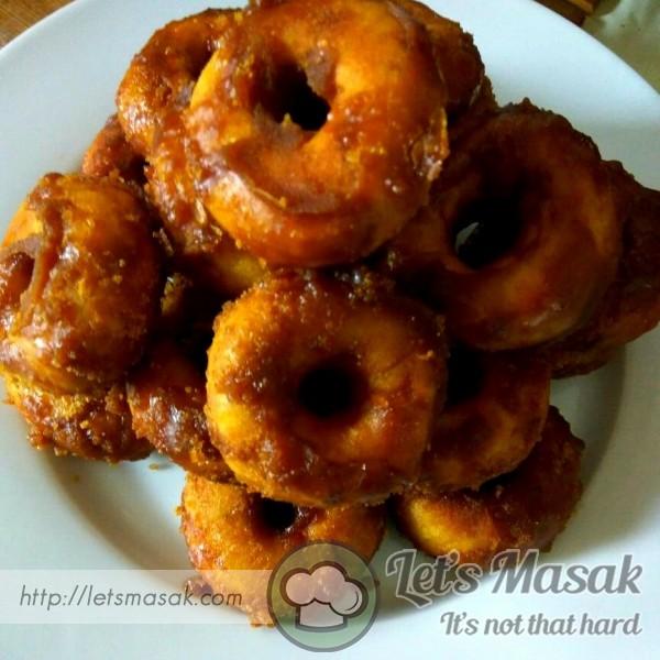 Keria Gula Melaka (With Brown Sugar)