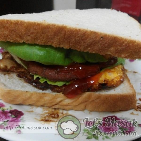 Sandwich Beef & Egg
