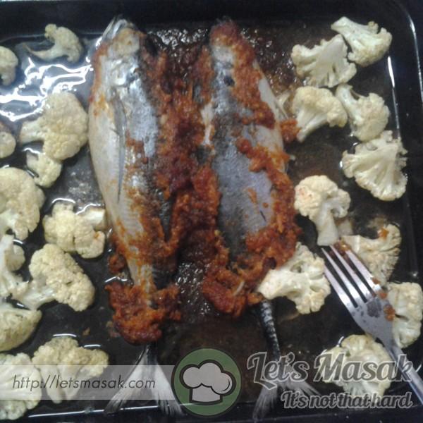 Ikan Cencaru Sumbat(Bakar)