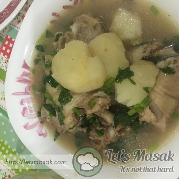 Sup Ayam Orang Demam
