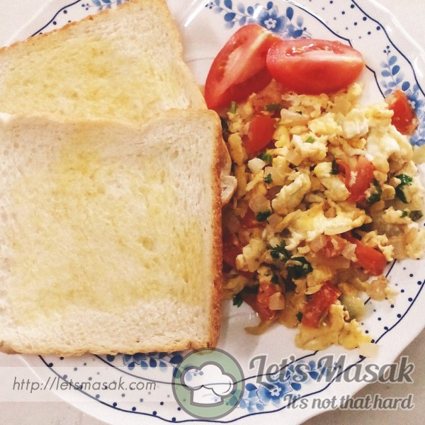 Ceria Scrambled Egg