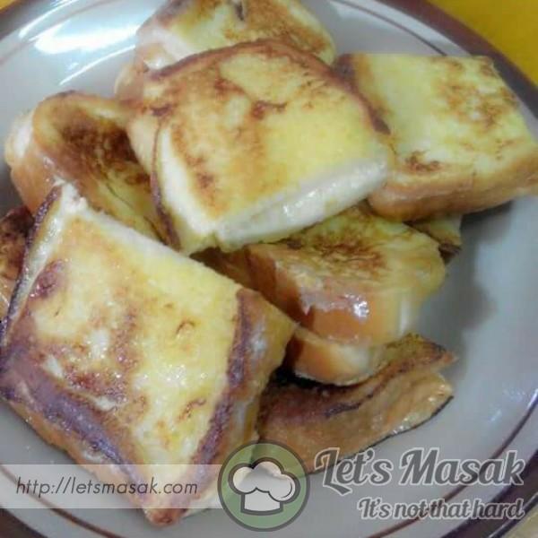 Roti Telur Cheese Bersama Kaya