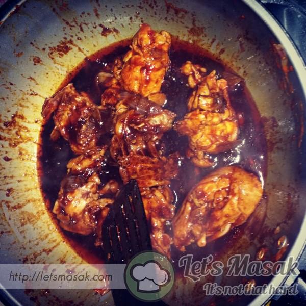 Ayam Pedas Madu