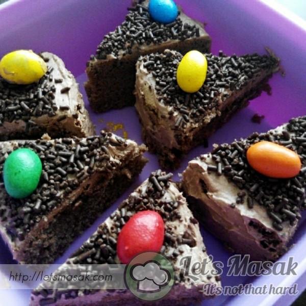 Mini Cutie Chocolate Cake
