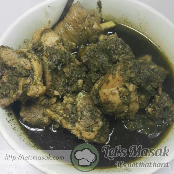 Ayam Masak Kacang Ma
