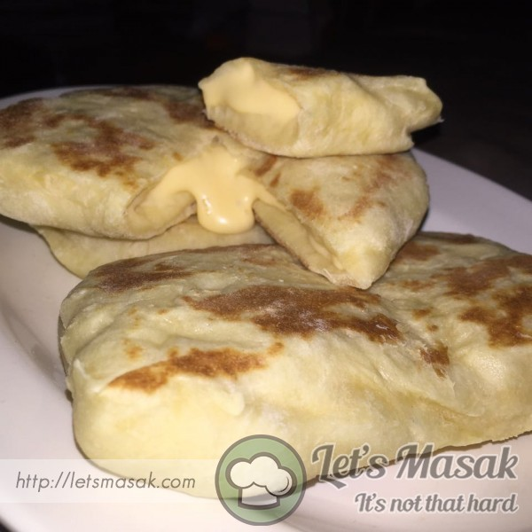Roti Naan Cheese