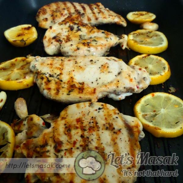 Ayam Lemon Panggang