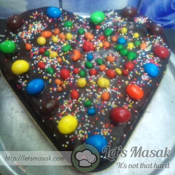 Kek Coklat Kukus Mudah Dan Sedap