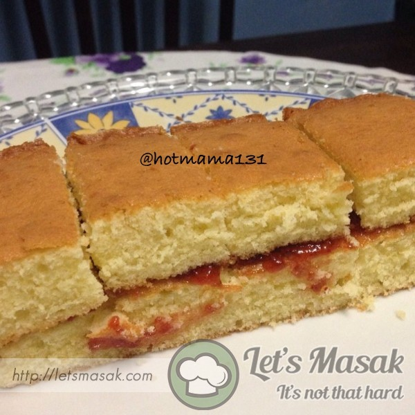 Pam Corbin's Victoria Sandwich Recipe — Dishmaps