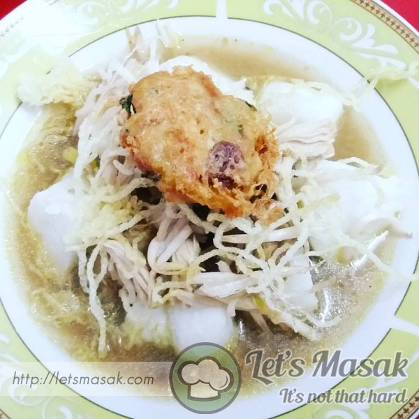 Soto Begedil Ayam
