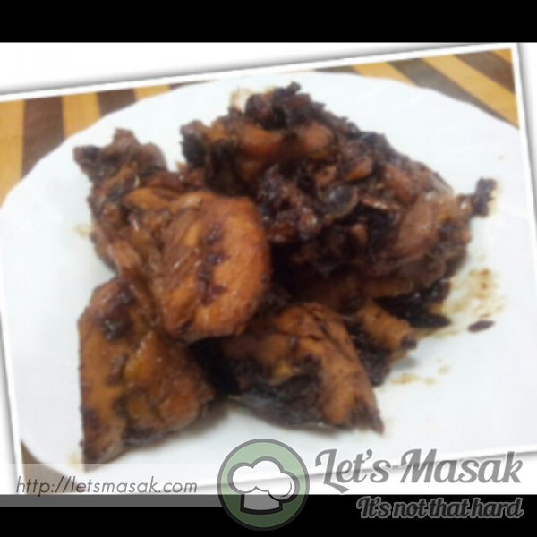 Stir Fried Soy Sauce Chicken
