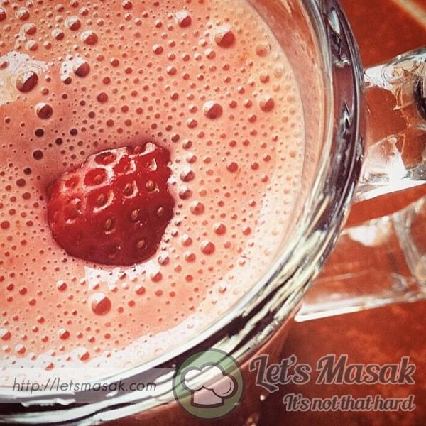 Strawberry Milk Juice
