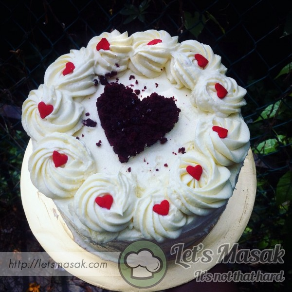 Red Velvet And Cream Cheese Frosting