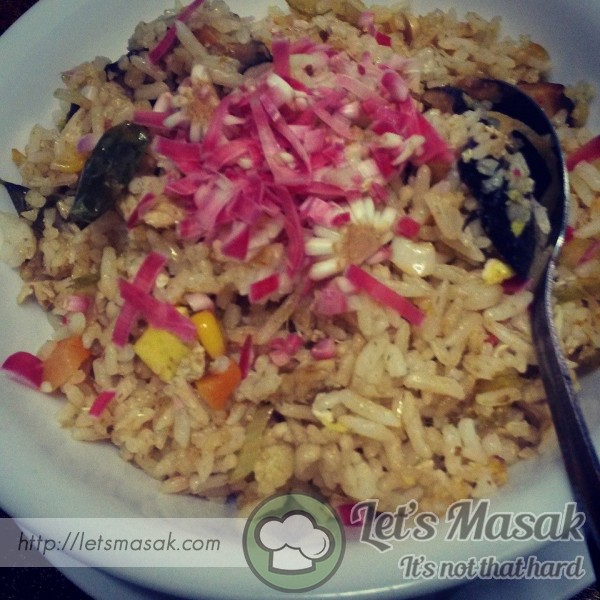 Nasi Goreng Bunga Kantan