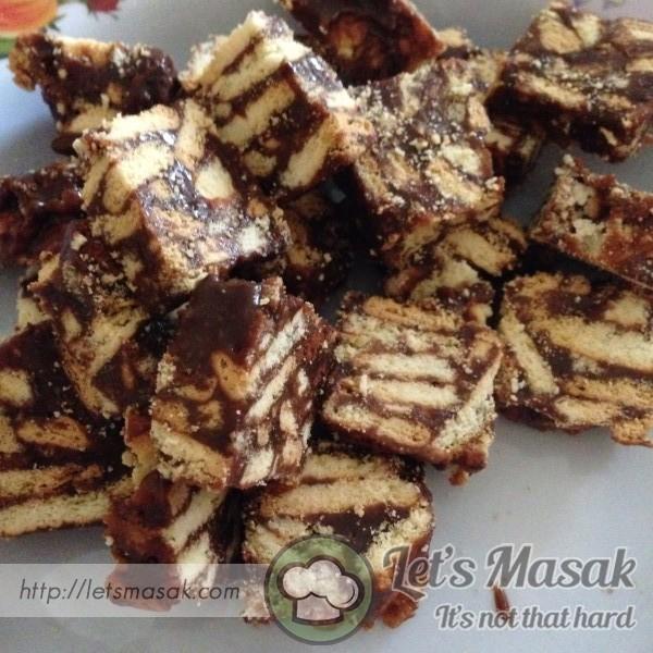 Kek Batik Dengan Nutella