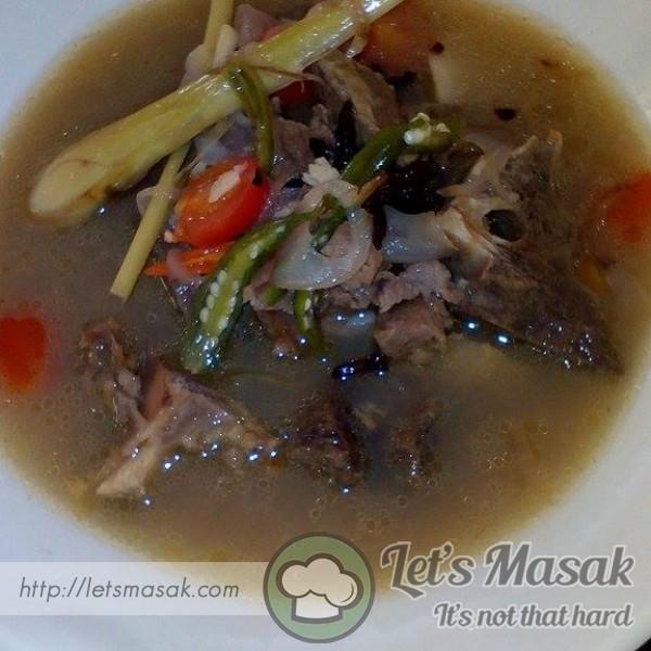 Sup Tulang Daging Ala Thai