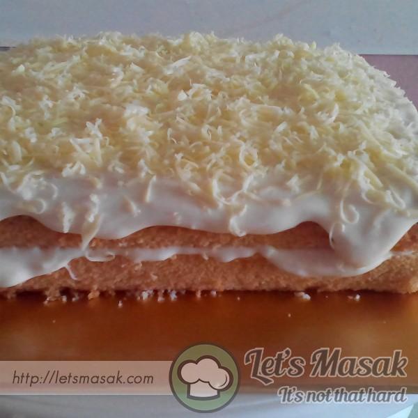Vanila Cheese Cake Leleh
