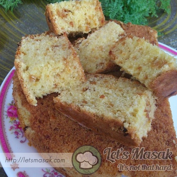 Kek Butter Nestum