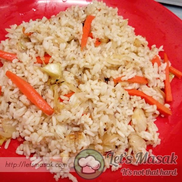 Nasi Goreng Vegeterian