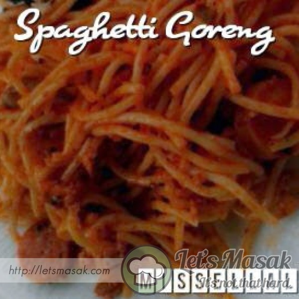 Spaghetti Goreng Simple