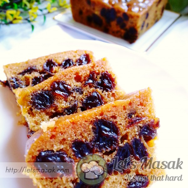 Butterless Fruit Cake
