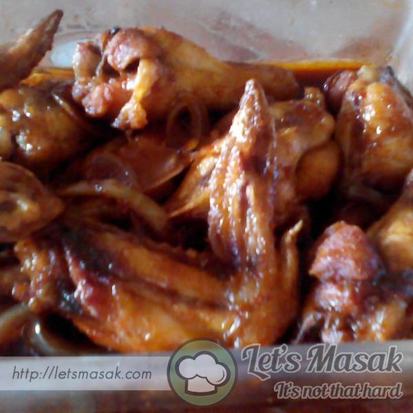 Ayam Goreng Masak Kicap Simple