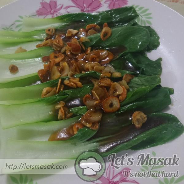 Pak Choy Garlic Oyster Sos