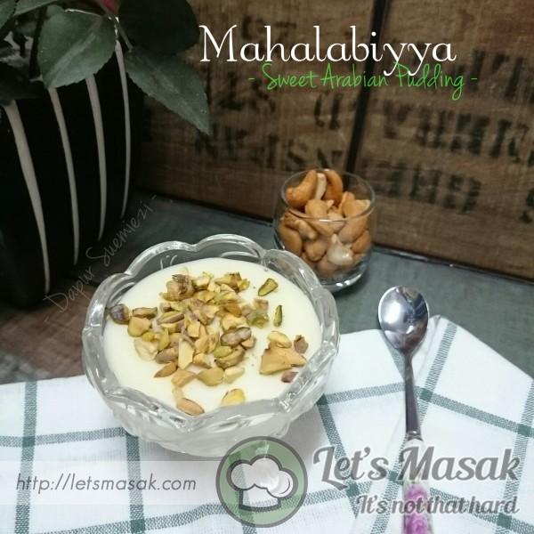 Mahalabiyya (Sweet Arabian Pudding)