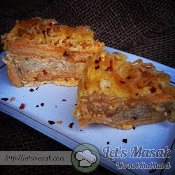 Lasagna Maggi Bakar