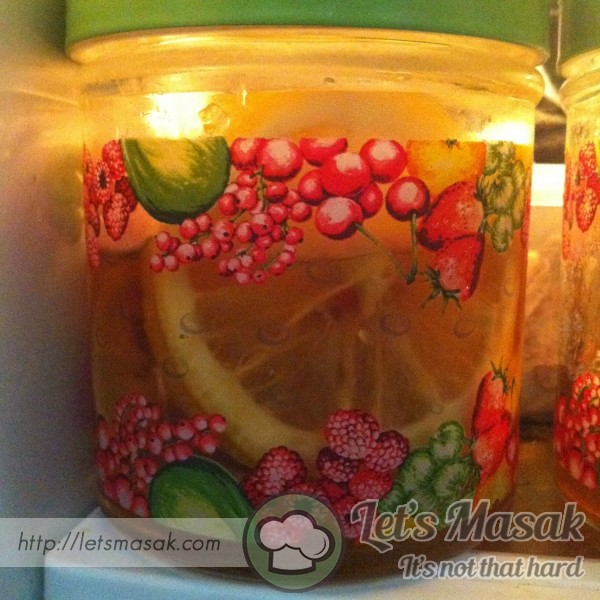 Detox Honey Lemon Slices