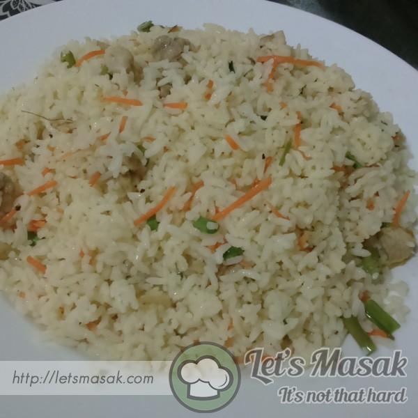 Nasi Goreng Carrot (Lobak Merah)
