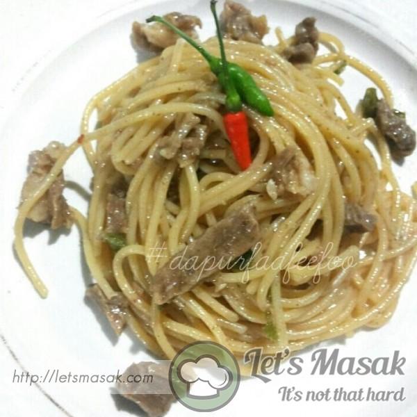 Spicy Beef Spaghetti
