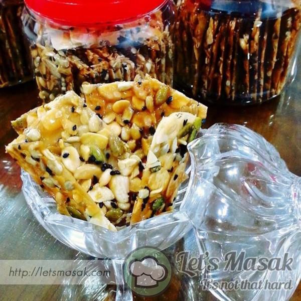 Almond Crunchy Krupkrap