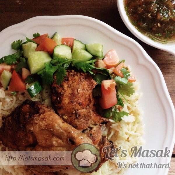 Nasi Arab Mehndi Chicken