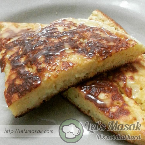3 Ingredients Pancake Cheese