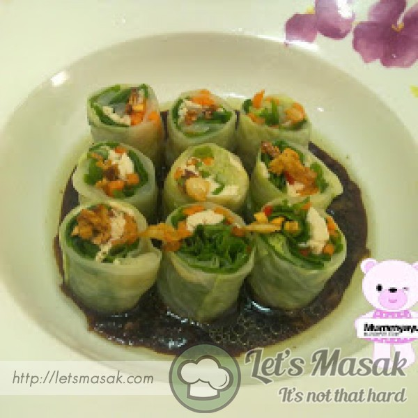 Chicken Cabbage Roll