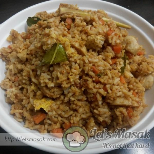Nasi Goreng Tomyam Pedas