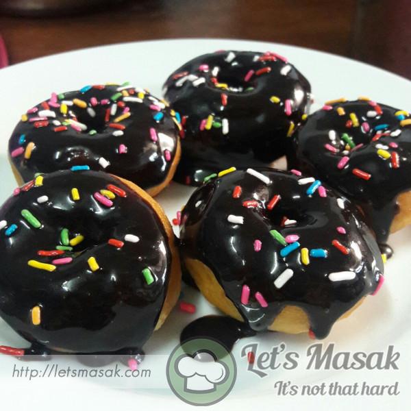 Mini Chocolate Donut
