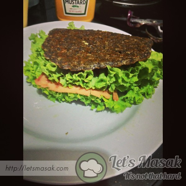 Flaxseed Bread With Chicken Meat Loaf
