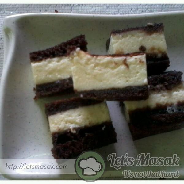 Kek Lapis Kukus Cream Cheess