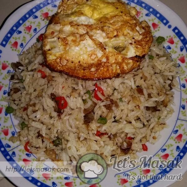 Nasi Goreng Ayam Ringkas