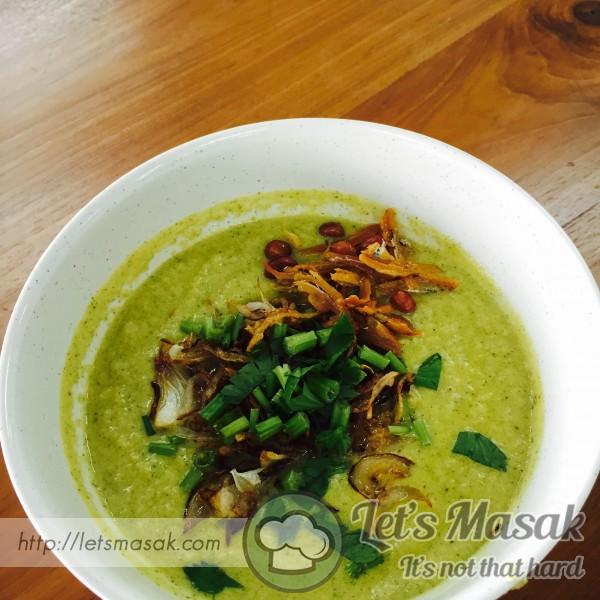 Sup Brokoli Dan Saderi