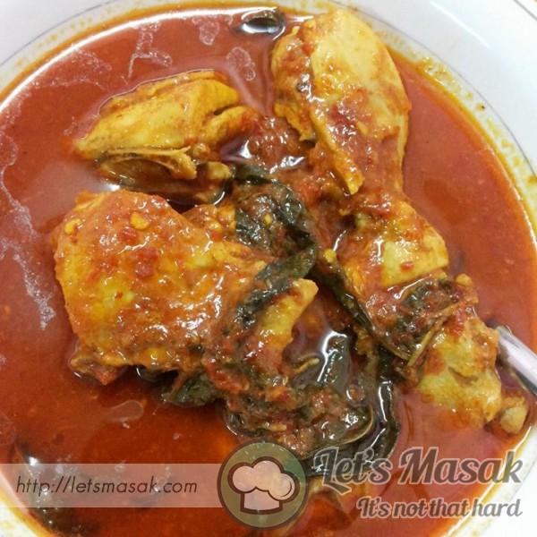 Asam Pedas Ayam